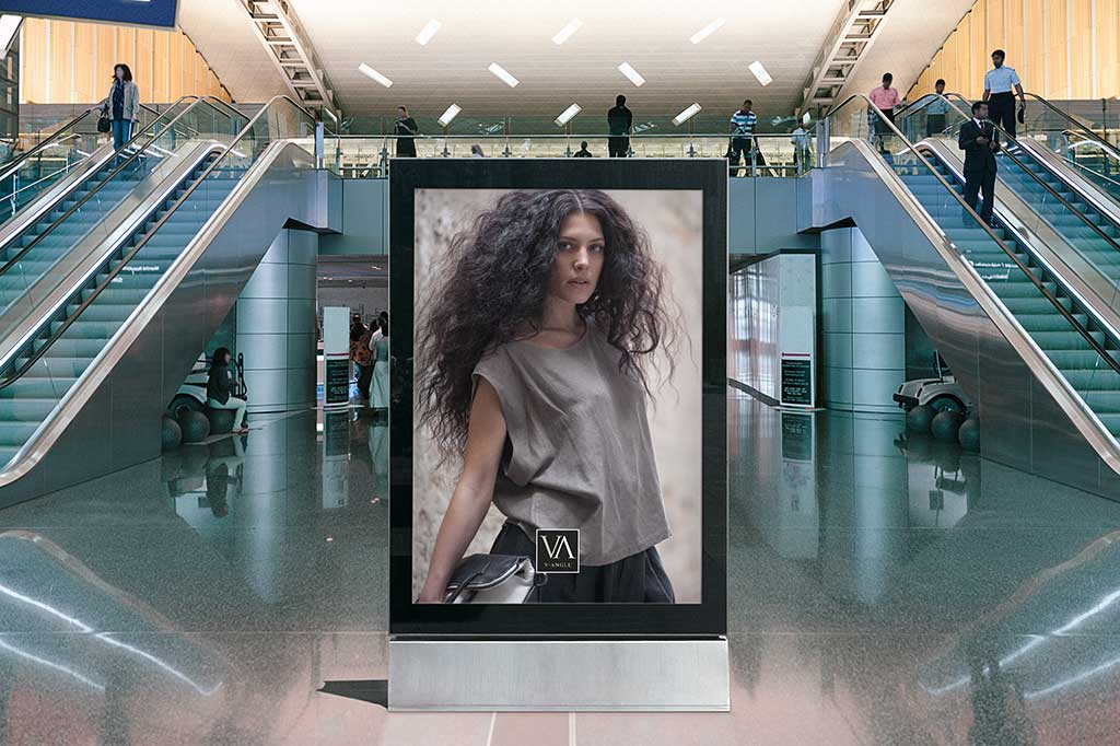 AdOpera, studio pubblicitario, comunicazione, immagine. Advertising, marketing, agenzia: campagna affissione V-ANGLE